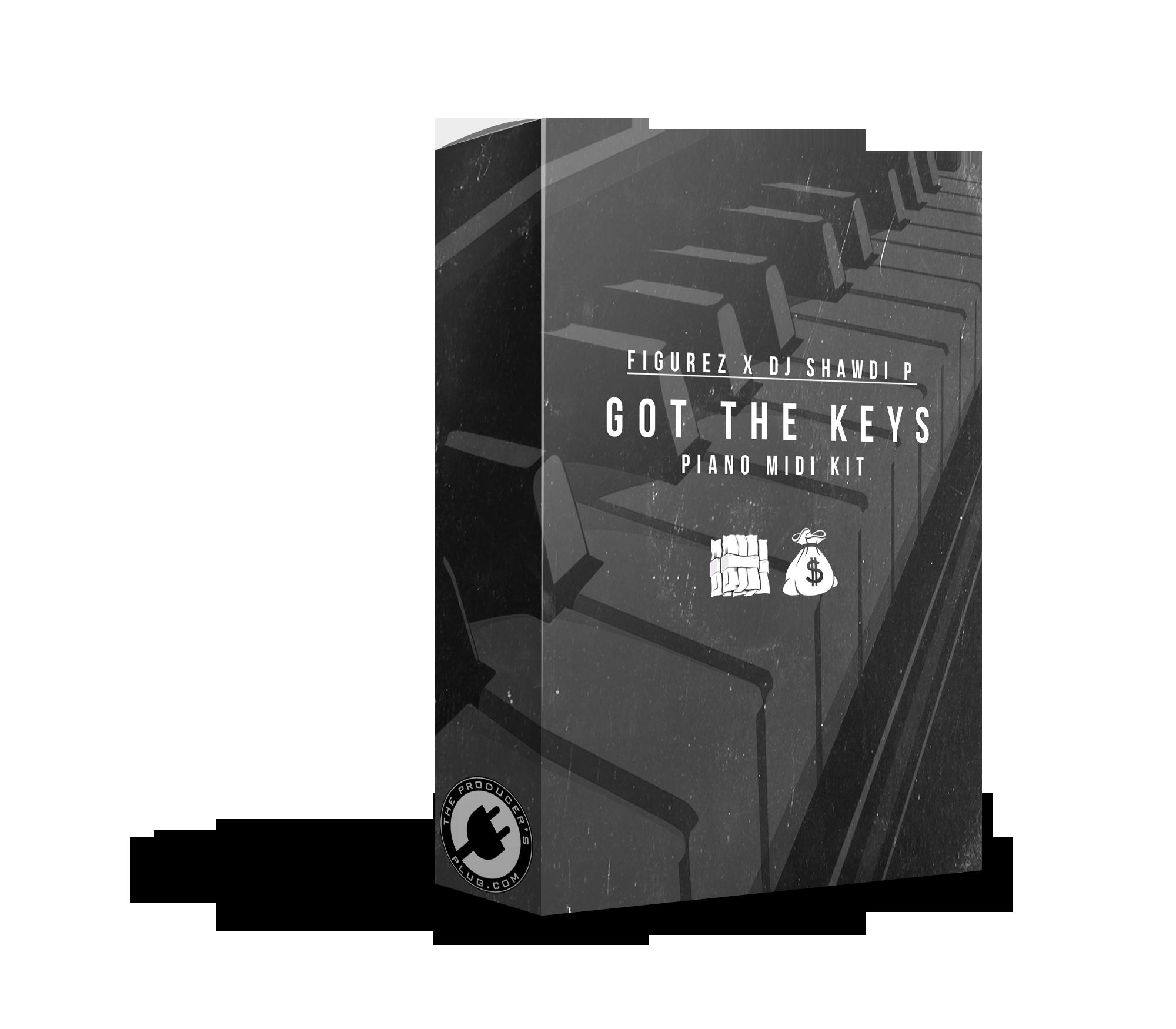 We Got The Keys - MIDI Loop Kit - The Producer's Plug